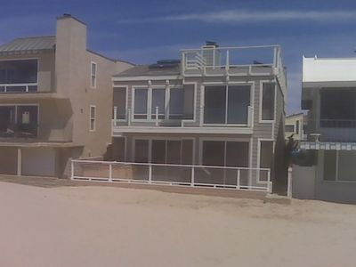 Photo for Easy, Casual Oceanfront Home On The Sand On Silverstrand Beach