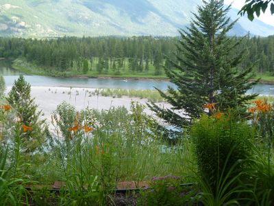 View Of The Flathead River