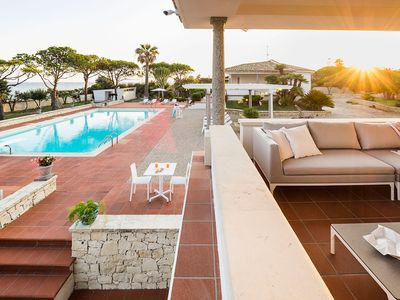 Photo for Stunning luxury private villa by the sea