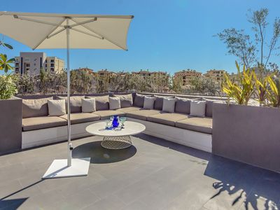 Photo for MARINA CABO- LUXURY 1BR CONDO WITH ROOFTOP AND JACUZZI!