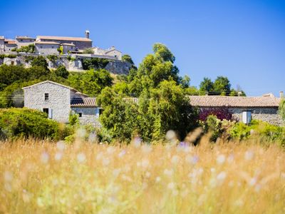 Photo for Le Grenier -Self catering luxury gites in restored 500 year old Provençal Mas.