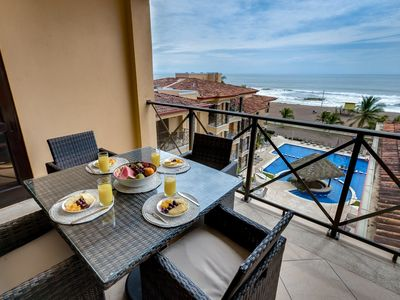 Photo for 5th Flr Ocean View Penthouse with 2 Level Balcony