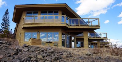 Photo for Modern condo on Lake Superior! King bed, Sauna, Fireplace! Panoramic Views!