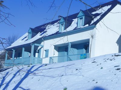 Photo for T3 bright 2 bedroom apartment, near downtown and ski slopes