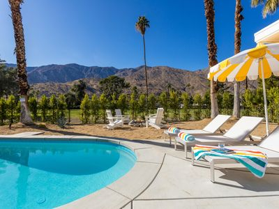 Photo for Blue Door at Indian Canyons - Gorgeous Mid Mod Remodel
