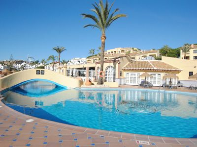 Photo for Front-line beach apartment in Mijas Costa
