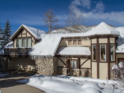 Photo for 4 bdrm + loft, 4.5 bath West Vail Mountain Tudor sleeps 13!