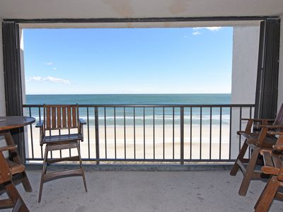 Photo for Station One - 7B - Oceanfront condo with community pool, tennis, beach