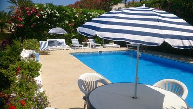 "Photo for ""Santa Rosa"" A Delightfull Villa With Private Pool and Jacuzzi close to Beach an"