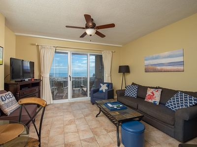 Photo for Pet friendly condo with a great view of the Gulf!