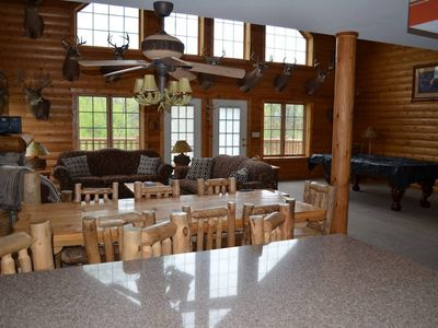 Photo for Starved Rock's Cabin in The Woods! -Sleeps 14