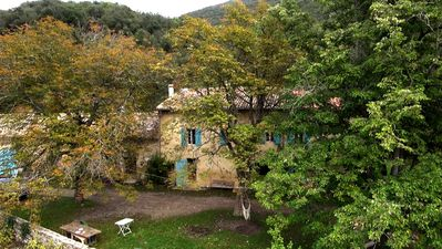 Photo for Field of Gauna, large cottage in the countryside, in the Corbieres