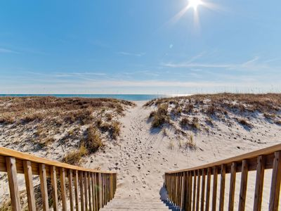 Photo for Huge 6 Bedroom Pet Friendly BEACHFRONT home! Sleeps 16! Rate reductions for spring!
