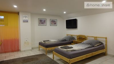 Photo for Chic basement fitter apartment in a quiet location
