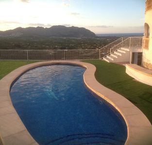 Photo for house with private pool panoramic view of the sea