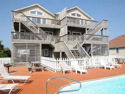 Photo for Oceanfront duplex with a pool - 307