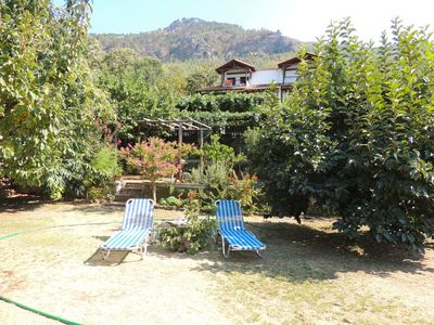 Photo for Studio with Amazing Mountain Views in Traditional Thassian Estate !
