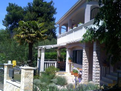 Photo for Spacious Apartment in Dalmatia near the Forest