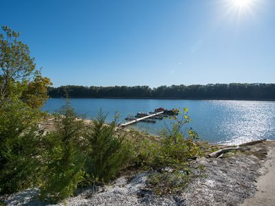 Photo for Breathtaking Cumberland lake vacation home.