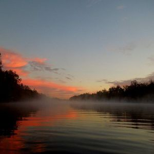 December Sunrise at the Suwannee