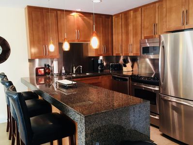 Exceptional Kitchen that is Fully Stocked for you enjoyment.