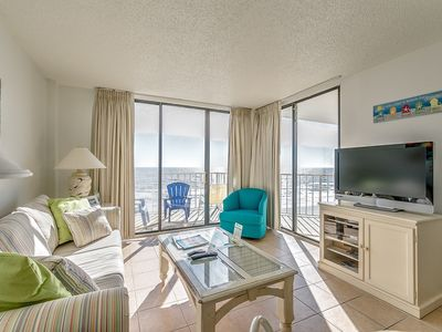 Photo for Great Oceanfront 3 Bedroom Condo, Crescent Sands C6 in Windy Hill!