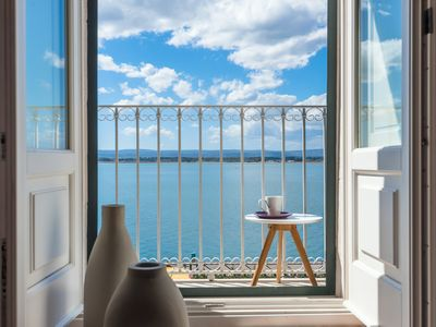 Photo for Elegant seafront apartment by Wonderful Italy