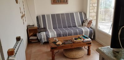 Photo for APARTMENT IN THE RDCH OF A VILLA 100 M FROM THE SEA