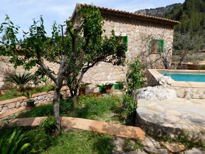 Photo for Very nice and quietly located country home with pool above Fornalutx