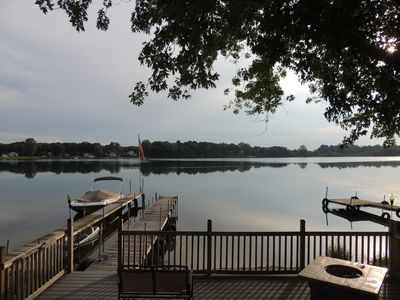 Photo for Lakefront with sleeps 8