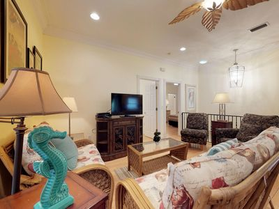 Photo for Mediterranean-style home w/ private pool, jetted tub, and easy beach access!