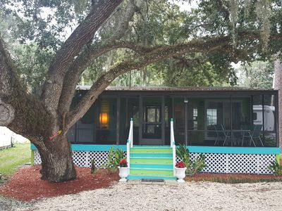 Photo for Nitas Nest is an adorable cottage nestled on the withlachoochee river
