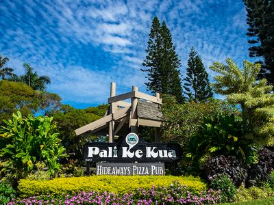 Photo for Pali Ke Kua #118: Kick back, relax! Whale watch or catch a gorgeous sunset!