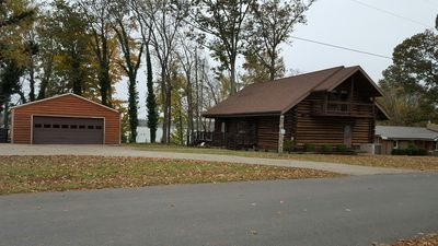 OPEN!! Lakefront Cabin with Beautiful Views
