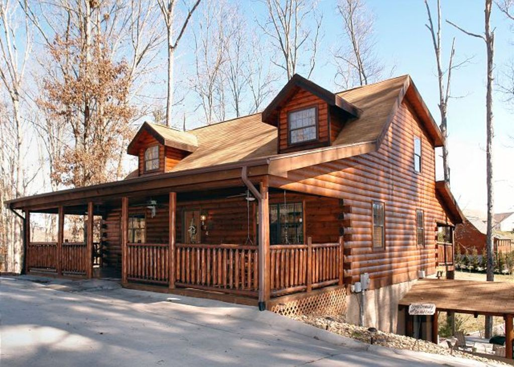 pool cabin setting log table luxury with tub hot buck tennessee pigeon cabins in forge peaceful little