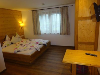 Photo for Double room with extra bed, WC (No. 4) - Tannenhof, Pension