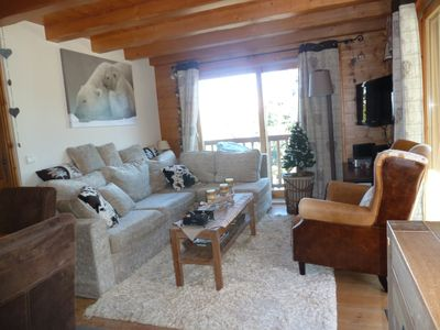 Photo for Arcs 1800: Very cozy apartment in a luxury chalet
