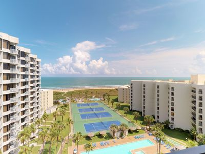 Photo for Dog-friendly oceanfront home features shared pools, tennis, hot tubs, & views!