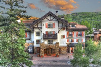 The Austria Haus is located in Vail Village and on Meadow Drive.