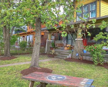 Photo for Discounted Winter Rates!Cozy bungalow,walk downtown,deck,grill,firepit,city view