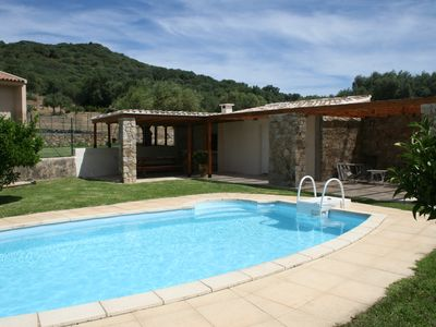 Photo for Large villa, panoramic sight on mountain, 3km beach and golf