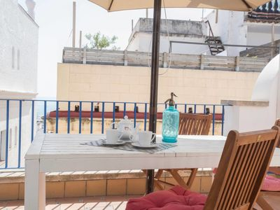 Photo for Barco Attic - Terrace in the center Sitges
