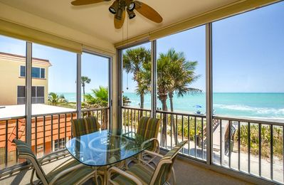 Photo for Corner Unit, Gulf Front on 2nd floor, Free Boat Docks & WiFi