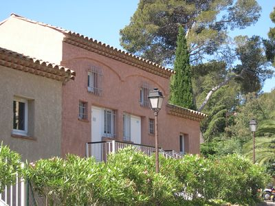 Photo for Apartment in LA CROIX VALMER located 300m from the beach