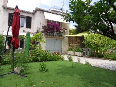 Photo for apartment with garden in Cannes center house