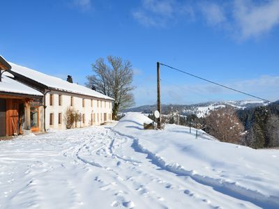 Photo for Rentals 8 people Gite Haut Jura Barns of the Red Cross