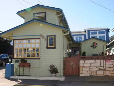 Photo for Ocean Views on Mermaid's Delight (two story beach cottage)