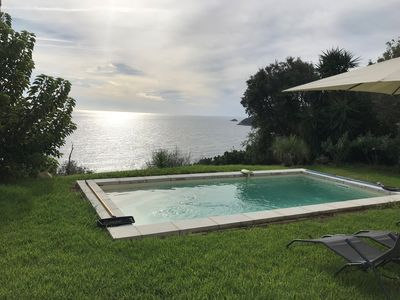 Photo for STELLA 3 - 6 P - PRIVATE POOL - SEA VIEW - CLIM - WI-FI