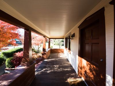 Photo for The Olive Street House is a charming craftsman bungalow with 5 spacious bdrms.