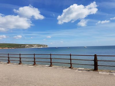Photo for Water's Edge - Sea Front Self Catering Apartment in the Heart of Swanage